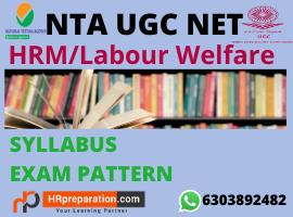 ugc net hrm labour welfare syllabus